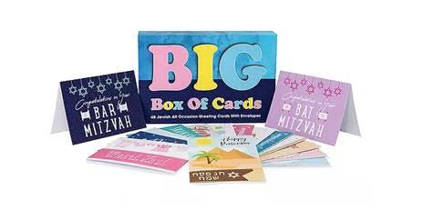 Big Box of Jewish Cards Fundraiser