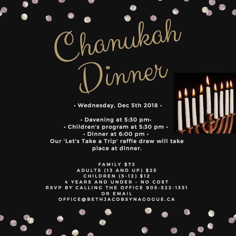 Chanukah Dinner